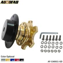 AUTOFAB - Car Steering Wheel Snap Off New Quick Release Hub Adapter Boss kit Universal For Honda Civic EK EM JDM 99-00 AF-CA0011