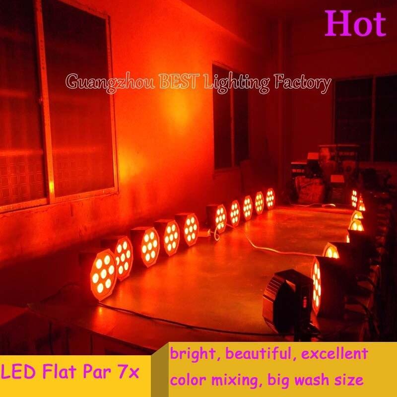 16pcs/lot led par64 dmx stage light business stage lighting<br>