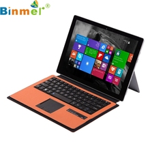 Binmer Mecall Wireless Bluetooth keyboard Case Touchpad for Microsoft Surface 3 10.8 inch(China)