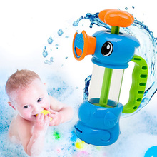 1pcs New Funny Baby Water Toys Hippocampus Style Bath Toys Pool Spraying Tool For Children Bathroom Games Kids Shower Water Toys