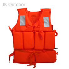Life Vest For Fishing Jacket Jackets Adult Boat Buoyancy Safety Gilet Orange Automatic Professional Survival Whistle Float Kayak