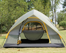 Automatic rainproof outdoor tent camping double 3-4 gift to expedite relief tents