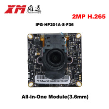 2016  New Arrival Megapixel 2.0 Megapixel H.265 IP Camera Module Board 1080P CCTV Camera IP Chip Board Mobile Phone View