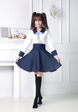 Japan and South Korea Cartoon Cosplay Costumes School Uniforms Navy Dress Costume Role-playing Game Service