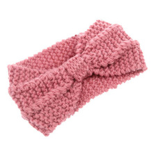 Winter adult crochet knitted headbands for hair Headwear turban headband head wrap accessories Hair bands ribbon(China)