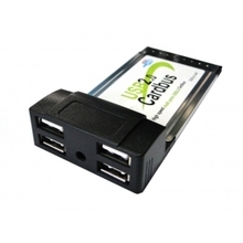 54mm port USB 2.0 USB2.0 4 Ports PCMCIA 54mm PC CardBus Latop Notebook high speed Adapter(China)