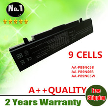 WHOLESALE 9CELLS laptop battery For SAMSUNG AA-PB9NC6B  AA-PB9NS6B  AA-PB9NC6W  AA-PB9NC5B  AA-PL9NC2B  AA-PL9NC6W  AA-PB9NC6W/E