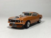 Green Light 1:64 1969 ford mustang boutique alloy car toys for children kids toys Model bulk freeshipping(China)
