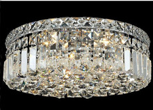 Phube Lighting Modern Chrome Crystal Ceiling Light Classic Gold Crystal Ceiling Light Fixtures Flush Mounted +Free shipping!(China)