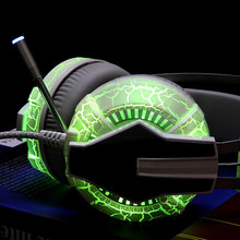 G95 Gaming Headset USB 3 5mm Gaming font b Headphones b font Blue LED light for
