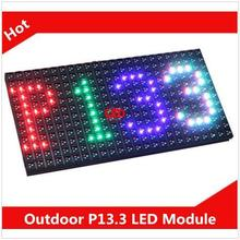 320*160mm 24*12 pixels P13.33 RGB Full Color  Led display outdoor Programmable Scrolling Message led sign advertising Board