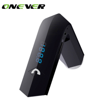 Onever Handsfree Car Kit FM Transmitter Wireless FM Radio Modulator Car MP3 Player with 3.1A USB Car Charger Support U Disk/TF(China)