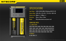 Cheap price Original for New Nitecore I2 battery charger Intelli Universal Battery Charger for AA AAA Li ion 26650 cells (1pc)
