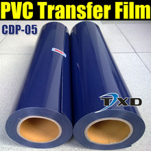 Free shipping dark blue Pvc Heat Transfer Vinyl with high quality 50CMX25M/ROLL CDP-05 DARK BLUE