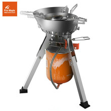 Fire Maple FMS-108 Super Power Portable Camping Outdoors One-Piece Gas Stove Outdoor Cooking  (Without gas tank)