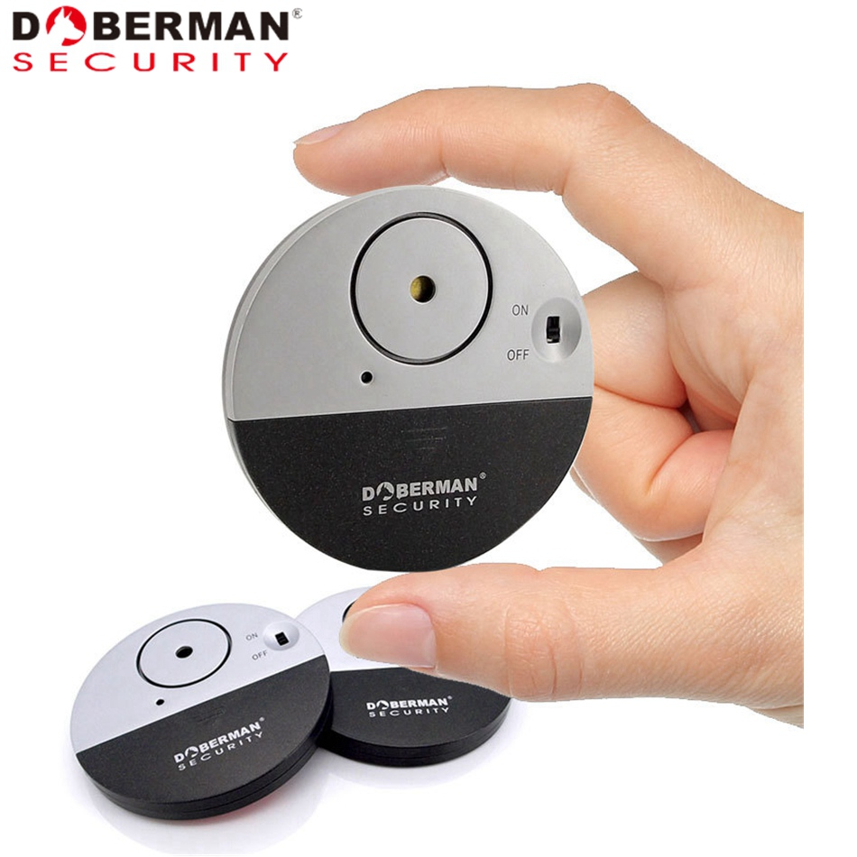 Vibration-Sensor Chime Alarm Door Entry-Defender Window Doberman Security Electronic title=