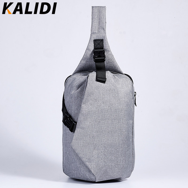 KALIDI Unisex Functional Notebook Casual Chest Pack Zipper Laptop Tablet Shoulder Messenger Bag Case for Apple Ipad 1 2 3 4 Mini(China (Mainland))