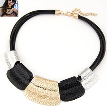 Hot Sale Maxi Necklace Colar Big Brand Collares Bib Choker Chunky Woman Necklace Vintage Statement Necklace Jewelry Wholesale(China)