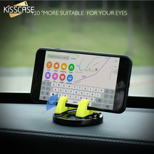 KISSCASE Desktop Sticker Universal Phone Tablet Stand Holder For iPhone 6 6s 7 Plus 5s SE 360 Degree Rotate Car Holder Stand