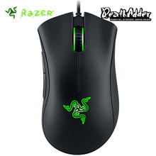 Razer Deathadder Chroma USB Wired Optical Computer Gaming Mouse 10000dpi Optical Sensor Mouse Razer Mouse Deathadder Gaming Mice(China)