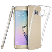Case for Samsung S6 Edge,ESR Essential Series Protective Skin Cover Scratch-Resistant Ultra Thin Clear Soft TPU case for S6 Edge