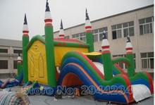 bounce house inflatable jumping castles giant inflatable games with slide(China)