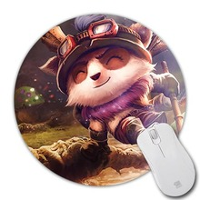 1pcs hot sell Quick scout, Timur Background pattern Mice Mats Speed Game Computer Animation Mouse Pad Round Mouse Mat Mices Pads