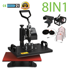 US STOCK VEVOR 12 X 15 Inch 8 in 1 Heat Press Digital LCD Controller T shirts Press Machine Swing Away Design Heat Press Machine(China)