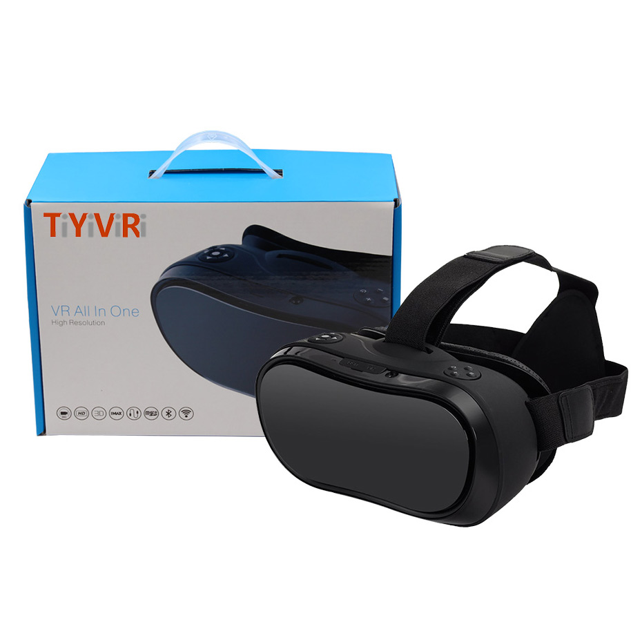 3D VR Glasses VR All In One Virtual Reality 3D Glasses For Android 5.1 HDMI 2K HD Display For PS 4 Xbox 360/One 20