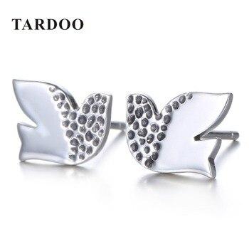 Tardoo Nueva Llegada 925 Pendientes de Plata Esterlina para Las Mujeres Volar Palomas Modelado Stud Pendientes Marca de Joyería Fina