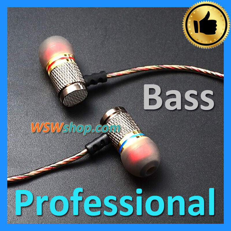 KZ - ED2 Professional In-Ear Earphones Metal Heavy Bass Sound Quality Music Headset Super 64 Core L-OFC Cable High Quality<br><br>Aliexpress