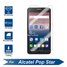 Alcatel One Touch pop star 3G Tempered Glass Original 9H Protective Film Explosion-proof Screen Protector for OT5022 5022D 5022X(China)