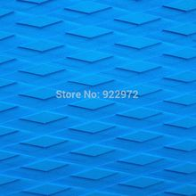 Free Shipping Blue Color Diamond Cutting Eva Sup Board Deck Pad Ggrip Pad