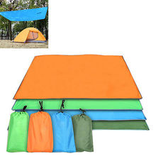 115*220cm Outdoor Picnic Beach Camping Mat Moisture-proof Water Resistant Portable Blanket Mattress with Storage Bag(China)
