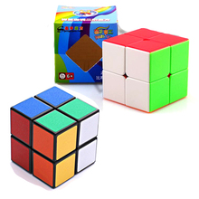 Newest Profissional Magic Cube 2*2 Competition Puzzle Speed Cube Kids children Toys Educational Toy christmas gifts(China)