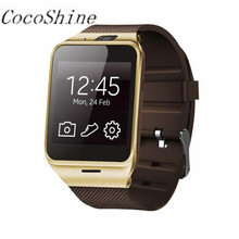 A-ZN8 Free shipping!  GV18 Bluetooth Smart Watch phone GSM NFC Camera Waterproof wristwatch for Samsung iPhone  Wholesale