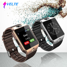 Svelte Smart Watch Dz09 with Camera Bluetooth SIM Card Fitness Tracker Universal for Ios Android Phones Support Multi Language(China)