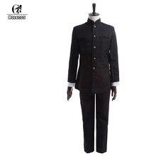 ROLECOS Japanische Schuluniform Cosplay Kostüme Kageyama Shigeo Cosplay  Kleidung Japanischen Schule Boy Uniform Jacken Hosen Set 7f29f70077