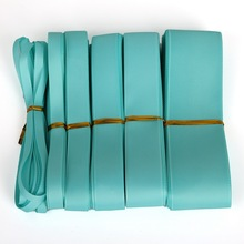 New Light Blue Grosgrain Ribbon 7-38mm 5yards for Wedding Party Decoration Gift Packing DIY Handmade Crafts Garment Accessories(China)
