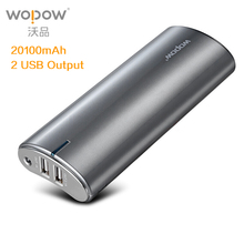 Buy WOPOW power bank 20000mAh pover bank Mobile Phone Power Dual USB External Battery Pack Fast Charger xiaomi Powerbank for $38.93 in AliExpress store