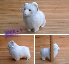 cute sheep toy creative small sheep doll white sheep doll gift about 16x8x14cm(China)