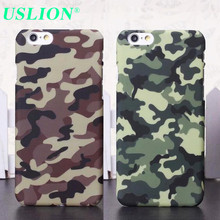 Mobile Phone Cases Fashional Army Camouflage Pattern Covers for iPhone 5 5s SE 6 6s Plus High Quality Ulra Slim Hard Back Shell