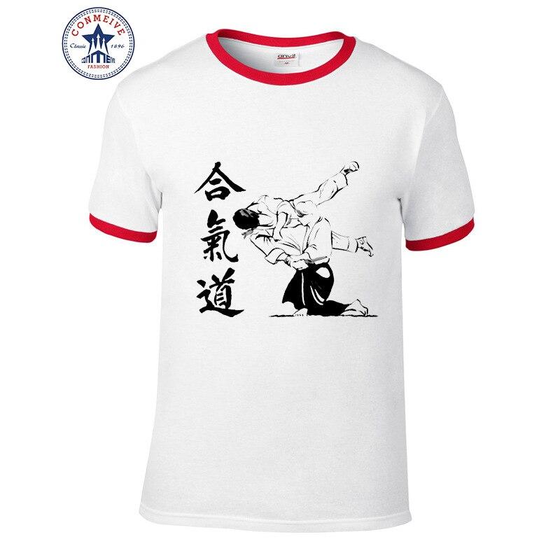 HTB1bjr2aX9gSKJjSspbq6zeNXXat t shirt aikido 2017 Teenage Youth Funny Cotton for men