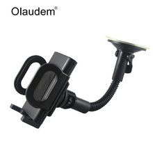 Car Phone Holder for Iphone 6 Samsung Windshield Mount Car Holder 360 Degree Rotatable Soporte Movil Mobile Car Phone Stand 028i