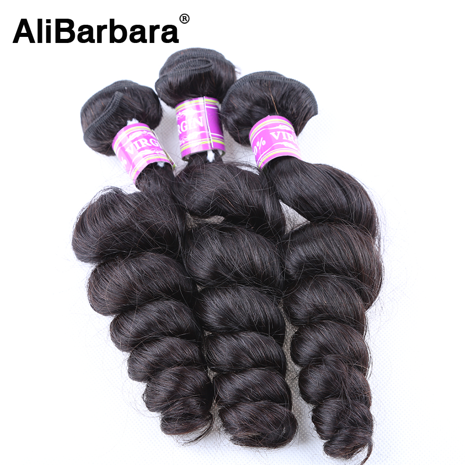 8A Brazilian Virgin Hair Loose Wave Brazilian Loose Wave Virgin Hair 3 Bundle Deal Human Hair Loose Curly Brazilian Hair Bundles<br><br>Aliexpress