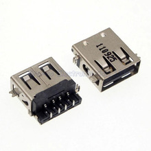 10pcs 2.0 USB Jack Connector for Acer V5-572G V5-573G HP Mini 210 etc USB Port