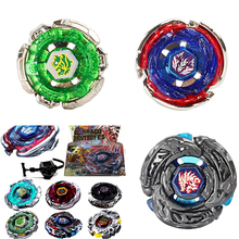 Hot Sale 1Set Fusion Top Rapidity Fight Metal Master Beyblade 4D Launcher Grip Set Collection Spinning Top Random