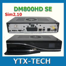 1pc DHL Free Shipping DM800hd se DVB-S tuner dm800se 400MHZ Sim2.10 Satellite Receiver Linux Enigma2 dm 800 hd se