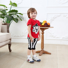 newborn clothing patterns cheap baby boy clothes boys summer short sleeve tiger cartoon red t shirt 2 pcs christening suit 2 age