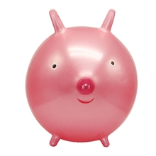 Top Selling Lovely Inflatable Toys Pig Animal Child Inflatable Toy Kids Playing Toys Lightweight Children Gifts 4 Colors